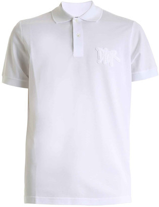 Christian Dior White Polo