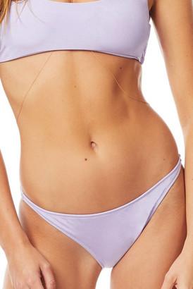 Tori Praver Marlowe Starlet Rib Lilac Bikini Bottom Lilac S
