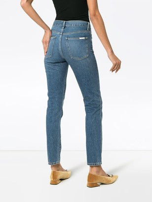 Eve Denim Silver Bullet Straight Leg Jeans