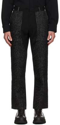 Sean Suen Grey Wool Trousers