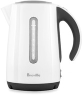 Breville The Soft Top White Cordless Electric Kettle