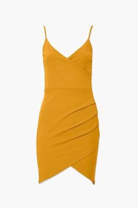 Forever 21 Tulip-Hem Mini Dress