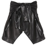 Magda Butrym Buffalo leather skirt