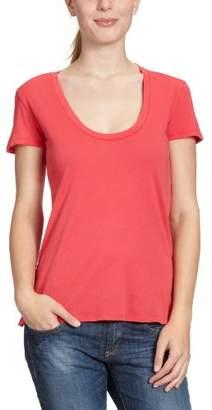 Bobi Women's Crew Neck 1/2 Sleeve T-Shirt - - (Brand size: M)