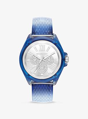 Michael Kors Wren Embossed Watch
