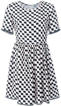 Kenzo printed full skirt dress