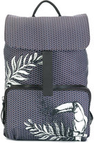 Zanellato tucan print backpack - women - Cotton - One Size