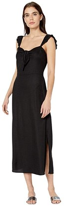 Billabong Cherry Lips Dress (Black) Women's Clothing
