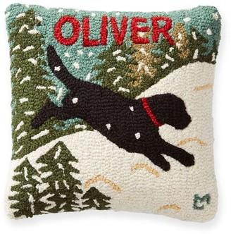 Mark & Graham Hand Hooked Pet Pillows