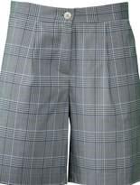 Semi-Couture SEMICOUTURE Checked Shorts