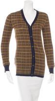 Prada Silk Button-Up Cardigan