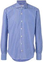 Kiton striped shirt - men - Cotton - 44
