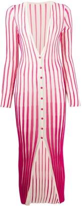 Jacquemus striped cardi-dress