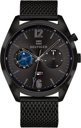 Tommy Hilfiger Men's Deacan Mesh Bracelet Watch, 44mm