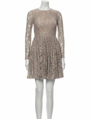 Needle & Thread Lace Pattern Mini Dress