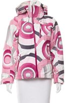 The North Face Printed Hooded Coat