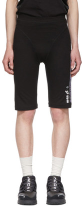 Adidas Originals By Alexander Wang Black Graphic 80s Shorts