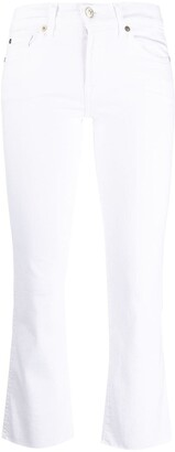7 For All Mankind Mid-Rise Kick Flare Jeans
