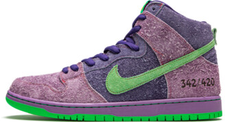 Nike SB Dunk High 'Reverse Skunk' Shoes - Size 7.5