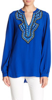 Hale Bob Long Sleeve Beaded Tunic