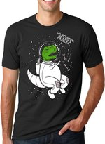 Crazy Dog T-shirts Crazy Dog Thirt Houton We Have A Problem Dinoaur Thirt Funny Atronaut T-Rex Tee