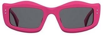 Moschino 51MM Rectangular Sunglasses