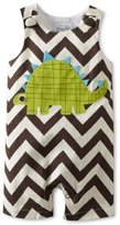 Mud Pie Baby-Boys Newborn Dinosaur Shortall