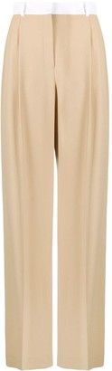 Racil Pleated Wide-Leg Trousers