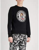 A Bathing Ape Year Of The Dog printed cotton-jersey sweatshirt