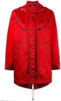 Coach Western parka coat - women - Leather/Polyamide/Polyester - 4