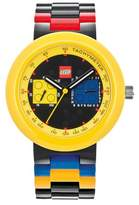 Lego Two by Two Analog Interchangeable Band Watch - Yellow