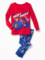 Old Navy Blaze and the Monster Machines Sleep Set for Toddler & Baby