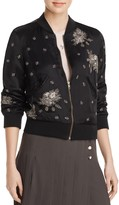 The Kooples Embellished Bomber Jacket - 100% Exclusive