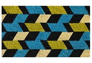 """Home & More Grand Graphics 17"""" x 29"""" Coir/Vinyl Doormat Bedding"""