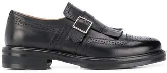 Doucal's Fran monk strap loafers