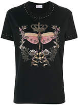 RED Valentino star studded print T-shirt
