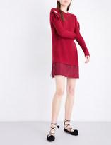 RED Valentino Abito Maglia wool dress