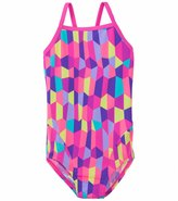Funkita Bobbly Bubbly Girl's Cross Back One Piece Swimsuit 8134095