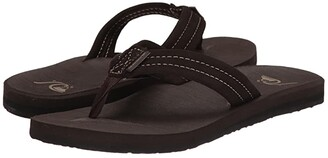 Quiksilver Carver Suede (Demitasse - Solid) Men's Sandals