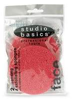 Studio Basics 2 Red Cleansing Sponges Red