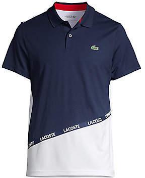 Lacoste Men's Logo-Tape Colorblock Polo