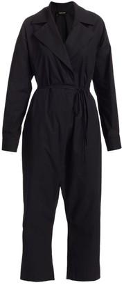 Rachel Comey Crossover Cotton Jumpsuit