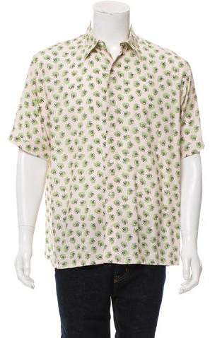 Fendi Rotary Phone Print Shirt