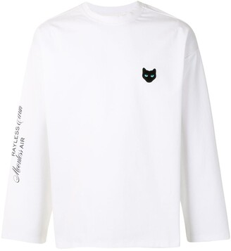 ZZERO BY SONGZIO Panther long-sleeved T-shirt