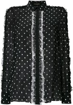 Giambattista Valli polka dot blouse