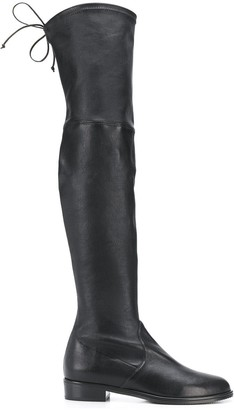 Stuart Weitzman Rear Lace-Up Boots