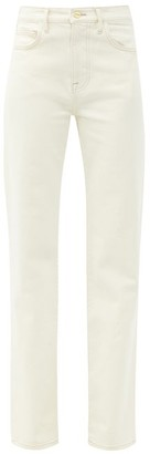 Frame Le Jane Straight-leg Jeans - Ivory