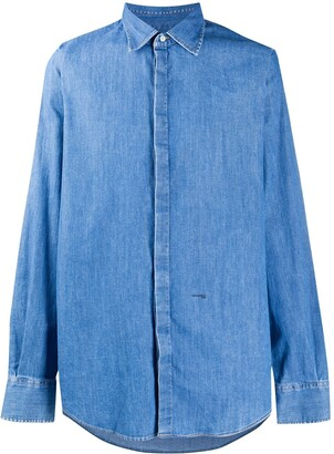 DSQUARED2 Denim Buttoned Shirt