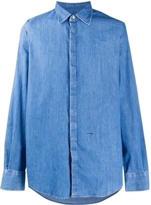 DSQUARED2 Denim Buttoned Shirt