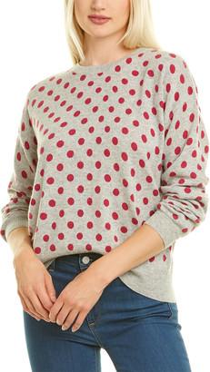 Kier & J Polka Dot Cashmere Sweater